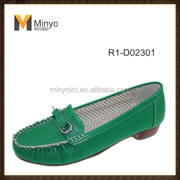 Minyo stylish casual shoes for ladies with low heel