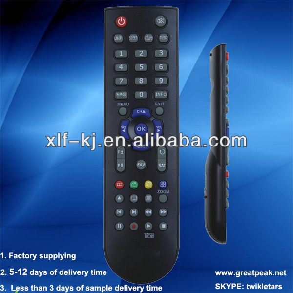 046c professional remotes factory supplying infrared TV remote control with 38keys