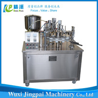 high performance semi automatic plastic tube filling sealing machine