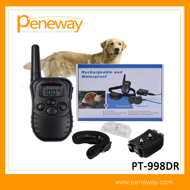 Waterproof And Rechargeable 998DR Antibark Dog Training Collar