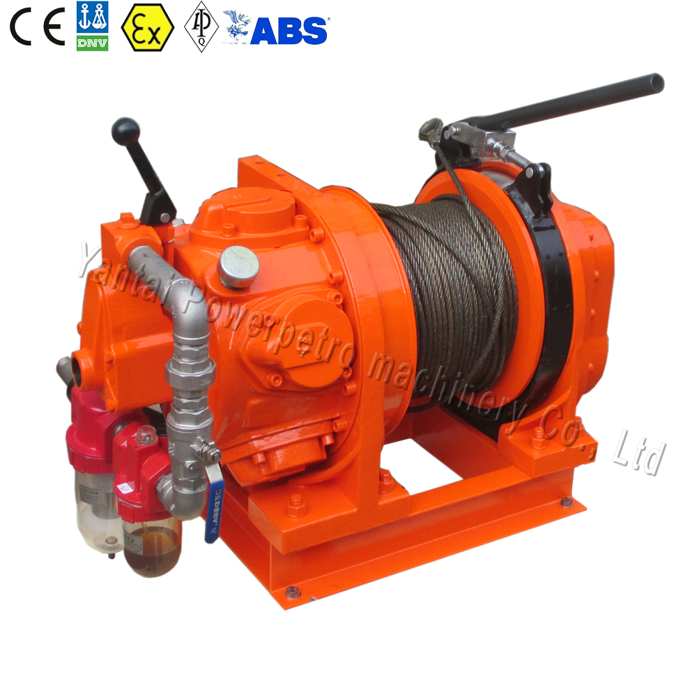 0.5-1 toon manual or remote control air tugger winch