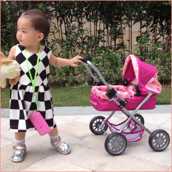 China factory 2015 Folding handcart doll stroller toys simple baby buggy