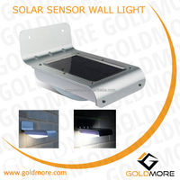 dmore 2 Solar Power Garden Security Lamp Outdoor Waterproof Wall Light Wall Mounted Motion Sensor Outdoor Solar Wall Light