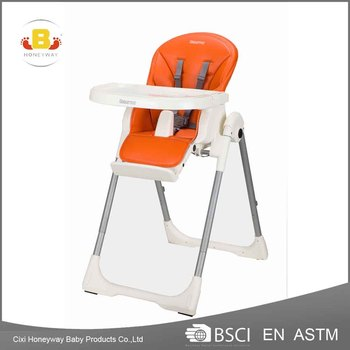 2017 Hot selling Multifunctional Plastic baby Feeding high chair