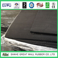 Sanhe Great Wall Rubber Top selling Braid Pattern Rubber Flooring mat 3mm x 1.22m x 25m SGS
