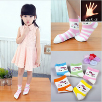 Children new winter casual cotton animal girl tube socks in tube wholesale