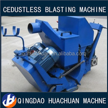 horizontal moving road surface shot blasting machine