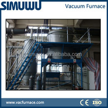Cyclical vacuum induction melting furnace, smelting equipment