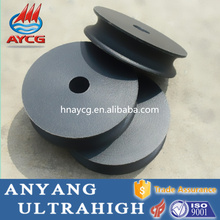 high quality wear resistant self-lubricant flat idler pulley