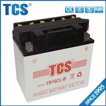 YB16CL-B 12V16AH battery for motor or scotter with big discount