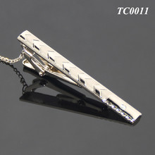 For Men Business Hot Selling Neck Tie Clip Metallic Zinc Alloy Simple Funky Tie Clip Wholesale
