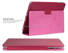 New Design Protective Cover For iPad 4 Flip Stand Case Paypal Accept