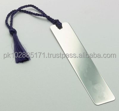 Stainless Steel Bookmark