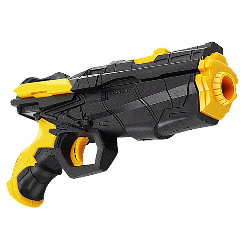 Wholesale Sucker Soft Ammo Pistol Water Ball Gun With Power Shooting Pistol Toy Water Black Color Soft Bullet And Water Gun Toy