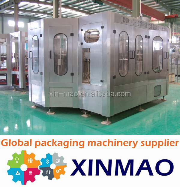 mineral water plant machinery cost, 600ml pet water bottle blowing machine, automatic filling machine