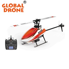 GLOBAL DRONE K110 2.4G Brushless 6CH Single Blade RC Helicopter RTF with 3D and 6G Mode