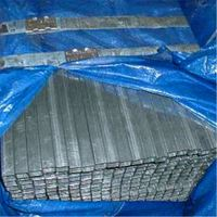 Pre galvanized square steel tube for greenhouse