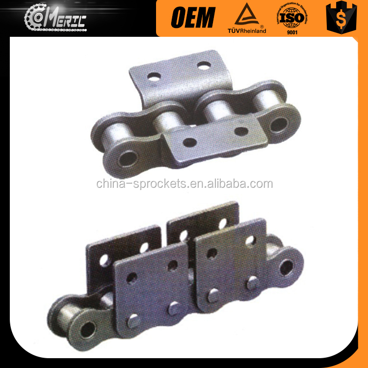 conveyor chain with special attachments