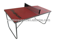 Economic Classical table tennis dimensions with red color top