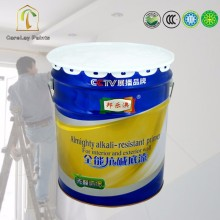 Water based acrylic wall priming paint
