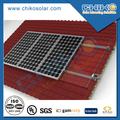 Aluminum pitched roof solar installation structure / bracket