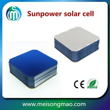 125mm sunpower mono solar cell highest efficiency sunpower flexible solar cells