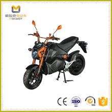 Factory Wholesale Exquisite 2000W Disc Brake Electric Motorcycle with CE for Transpotation
