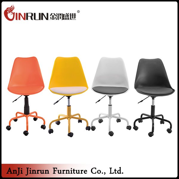 High quality swivel adjustable high swivel bar chair with wheels