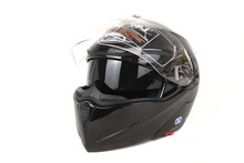 Safety design DOT two visor flip up helmet for motor HD-701