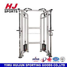 HJ-B5537 Strength Fitness Equipment Deluxe Commercial Gym adjustable Cable Crossover/Dual Adjustable Pully with 120kg weight