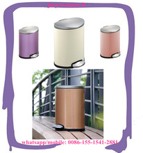 middle size trash can/ waste container/garbage bin with colorful coating