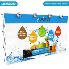 Pop up backdrop display stand