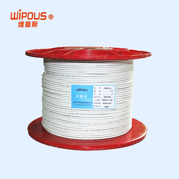 EU standard wire CE single core control wire 300V/300V 0.2mm2 cable H03V-K