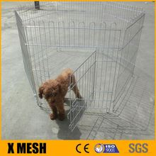 Metal wire Pet Playpen Puppy Rabbit Cage Folding Run Dog Fence Garden Crate Outdoor Indoor