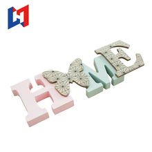 Decorative wood alphabet letters custom painted wood letters