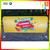 Outdoor event mesh vinyl barricade barrier jacket cover crowd barrier covers