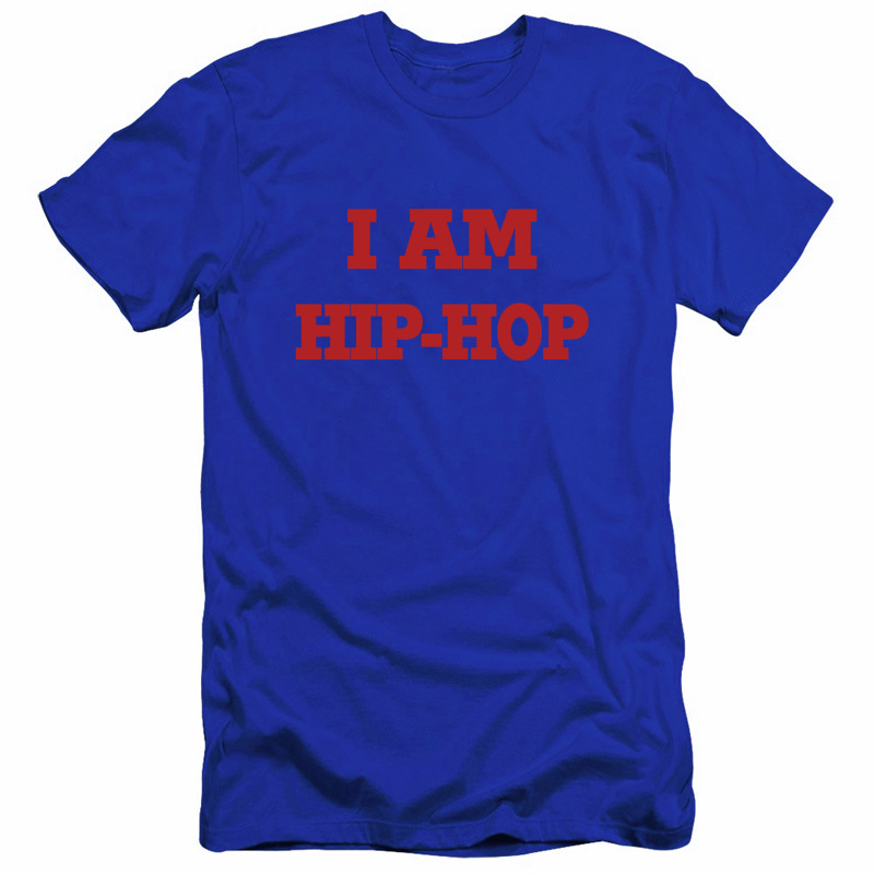 Cool shirt men 100% cotton hip hop shirts