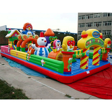 Factory price newest design kids and adults outdoor games commercial large inflatable bouncer for sale