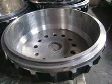 steel iron material precision sand casting auto parts
