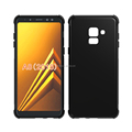 alpha design collision avoidance antiskid tpu case for Samsung A8 2018 soft cover