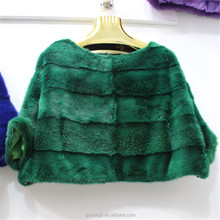 2018 New Style High Quality Real Mink Fur Coat Lovely Style Mink Fur Jacket For Girls Women