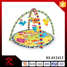 Newly kids play mat plush baby play mat in animal shaped