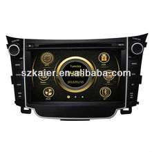 central multimidia system for Hyundai I30 with Built-in GPS/Bluetooth/Radio/iPod/SWC/3G/TV