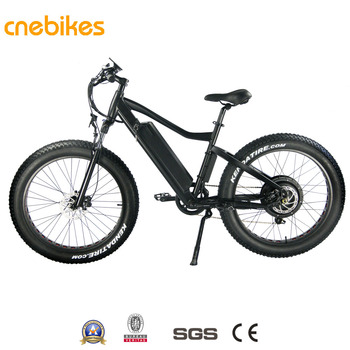 cnebikes 48v 1000w strong fat tire electric bicycle with lithium battery