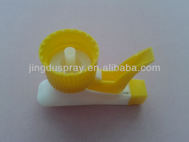Trigger Sprayer Nozzle 28/410 for Bottle Yellow&White Cap JD-101B