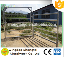 Portable galvanized metal livestock horse round yard panels