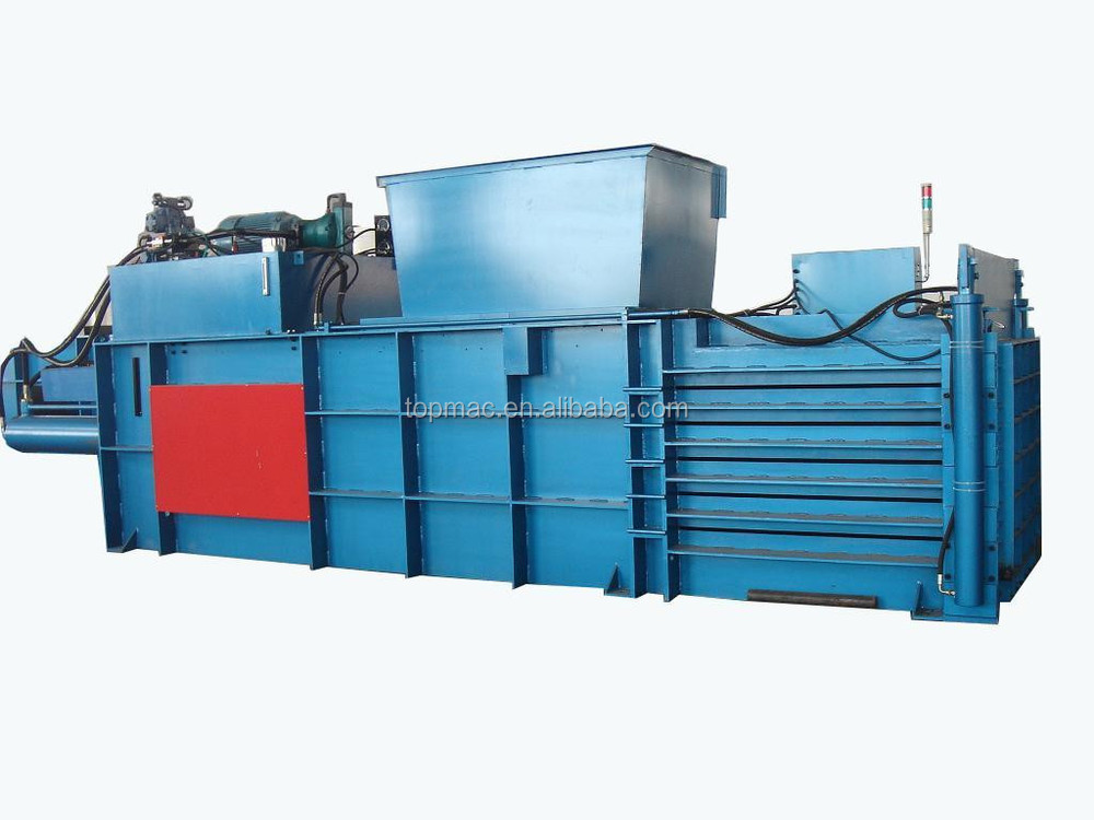 EPM125 Horizontal hydraulic waste paper and plastic recycling baler