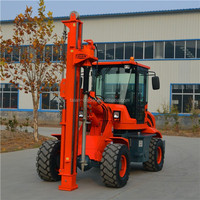 Cheap hard rock borehole ground drilling machine GS2000