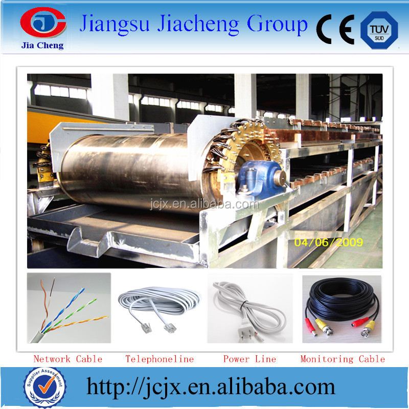 wire electrolytic plating machine and line