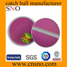 Outdoor going Suction Catch Ball Plastic 100% New PP Catch Ball with new design